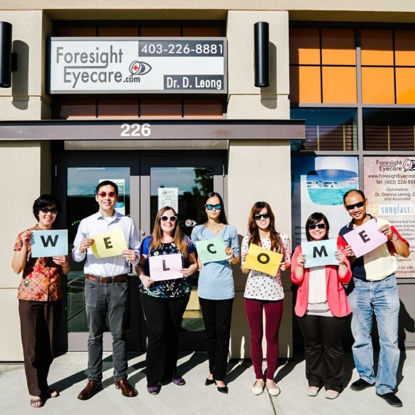 Team Foresight Eyecare welcomes you