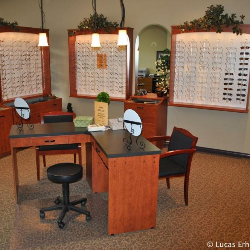 Eyeglasses Dispensary - frames for all ages and styles.