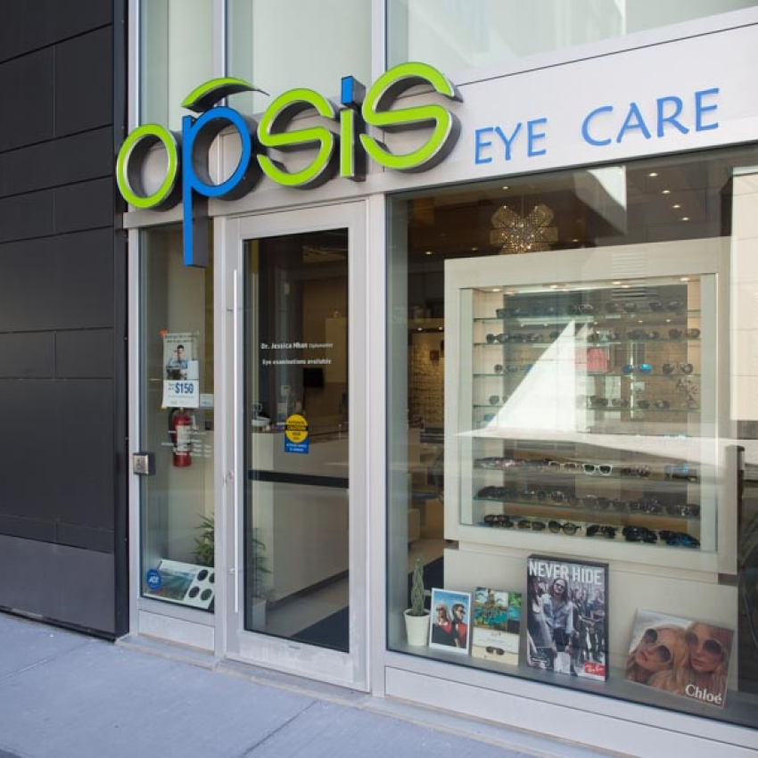 Opsis Eye Care Front - Dr. Jessica Nhan