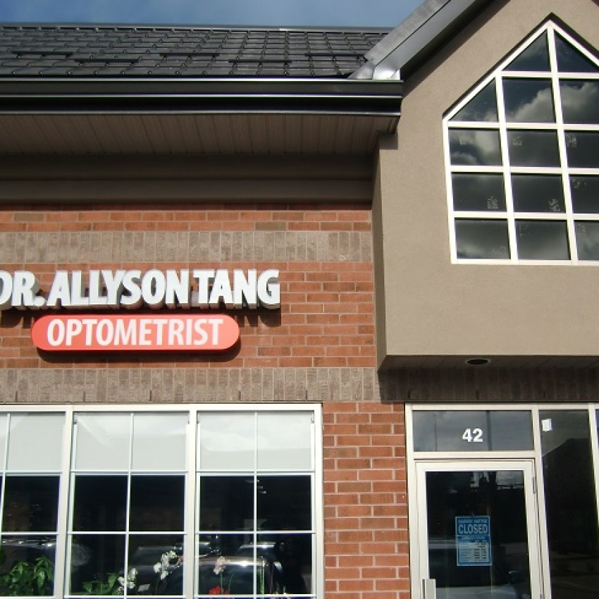 Allyson Tang Optometrist clinic entrance