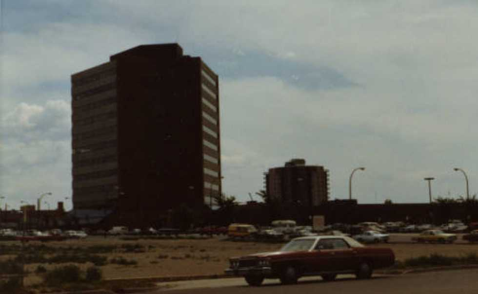 July 1980 - Lethbridge Centre is 5 years old. Visual Effects will be established 6 years later.