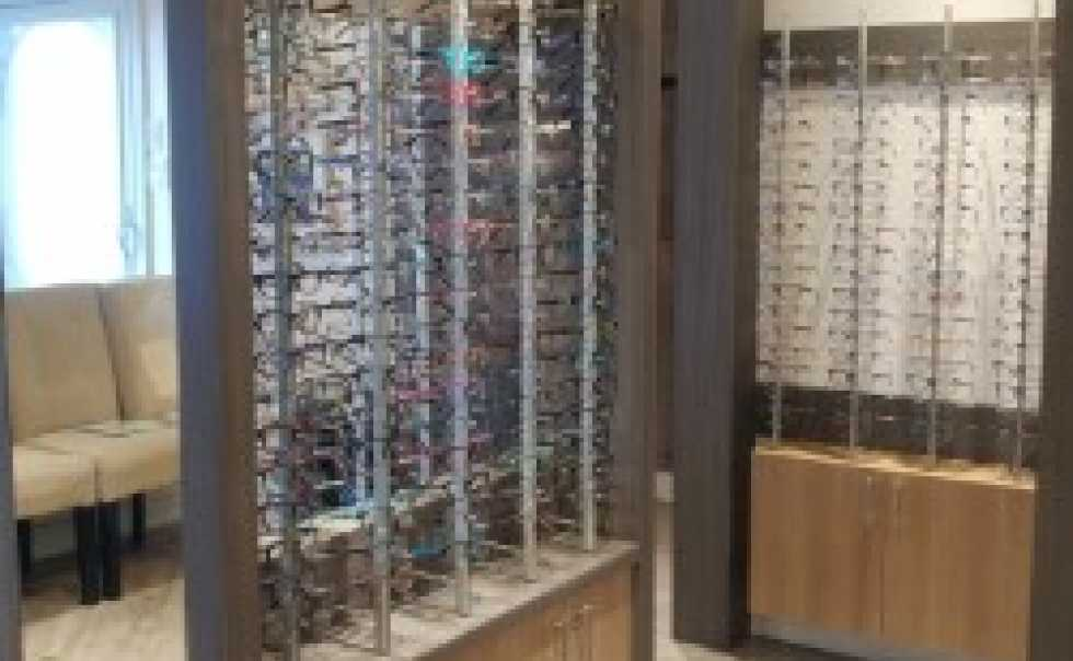 Driftwood Family Eye Care Displays