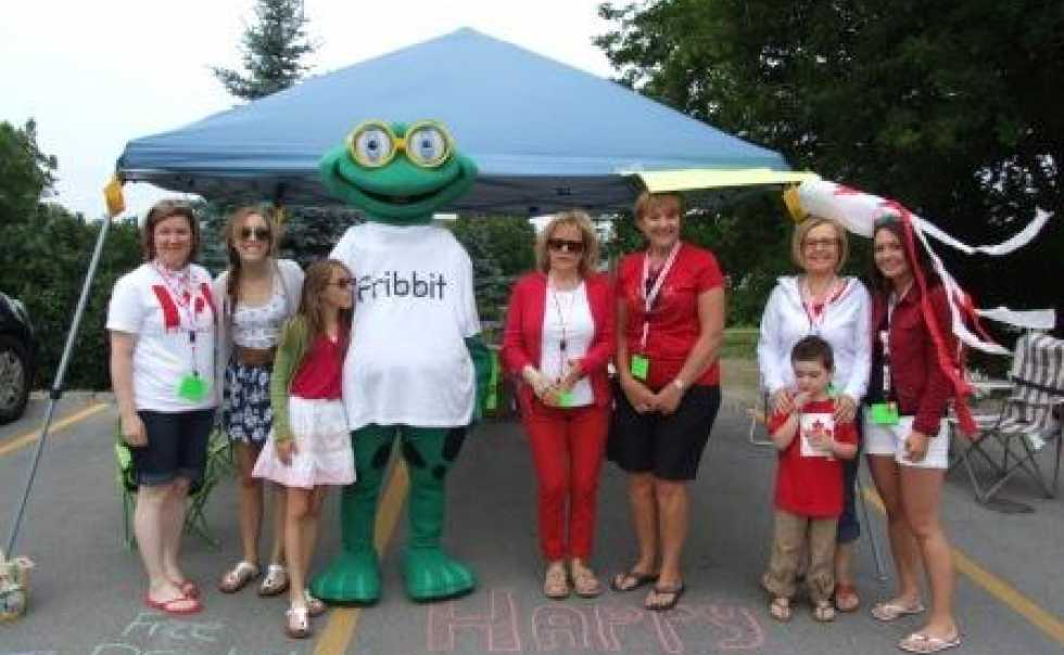 Canada Day with Fribbit the Frog