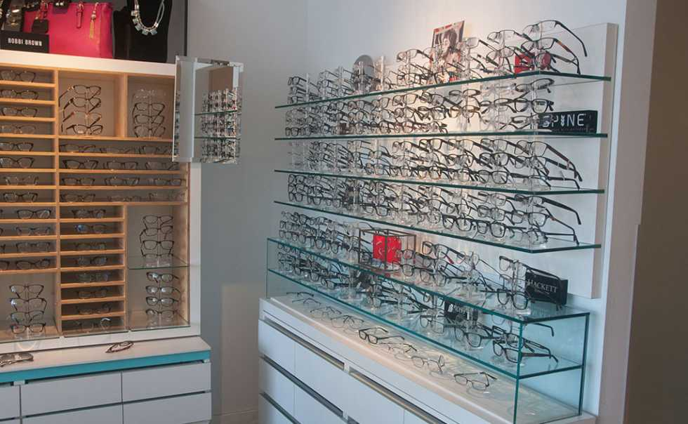 Varshney Optometry Interior