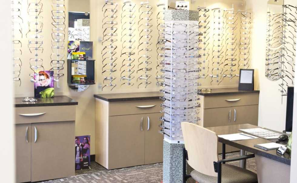 Our dispensary and optical boutique