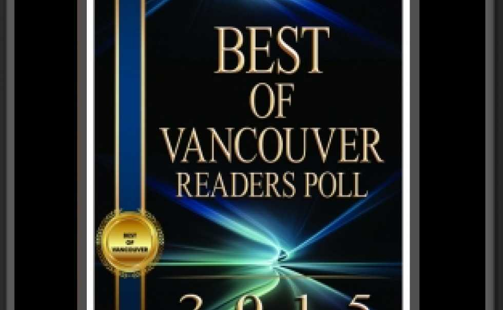 Best Eyewear of Vancouver by a Readers Poll of The Georgia Straight