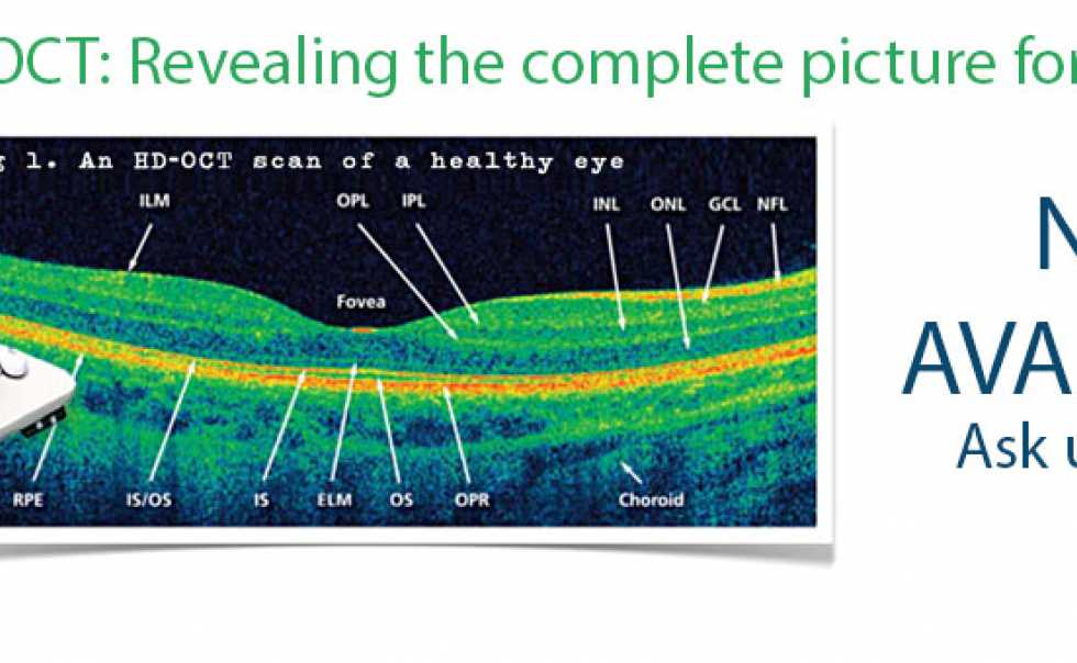 We can check your full eye health with the latest technology