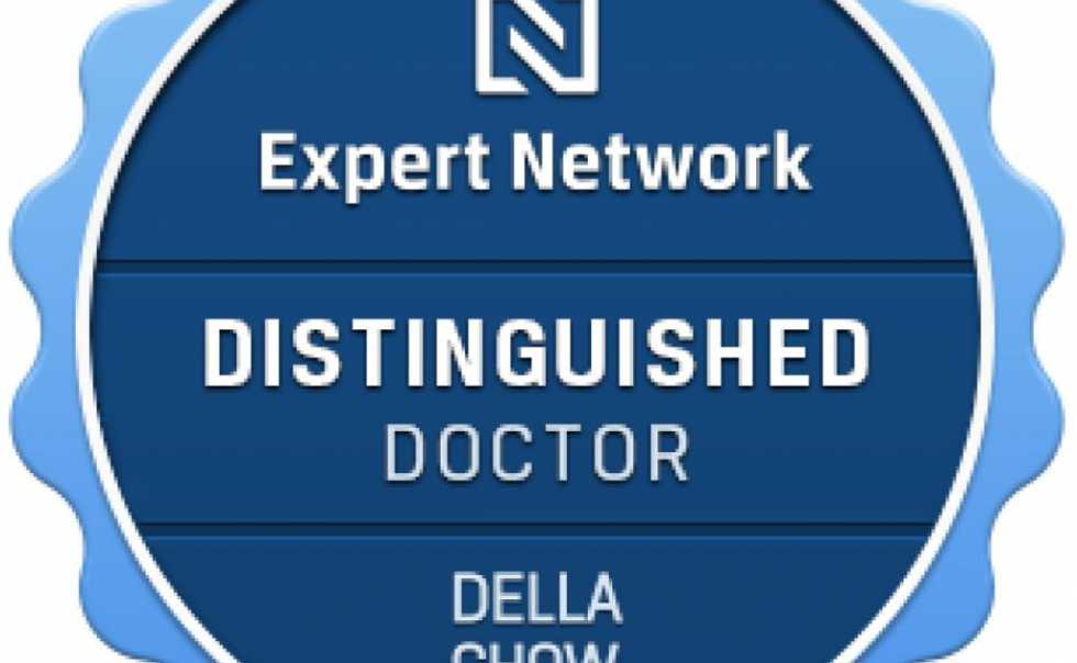 A Distinguished Doctor as acknowledged by The Expert Network