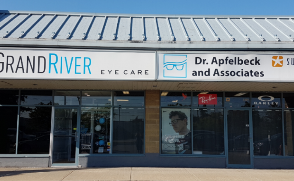 Grand River Eye Care, our front entrance