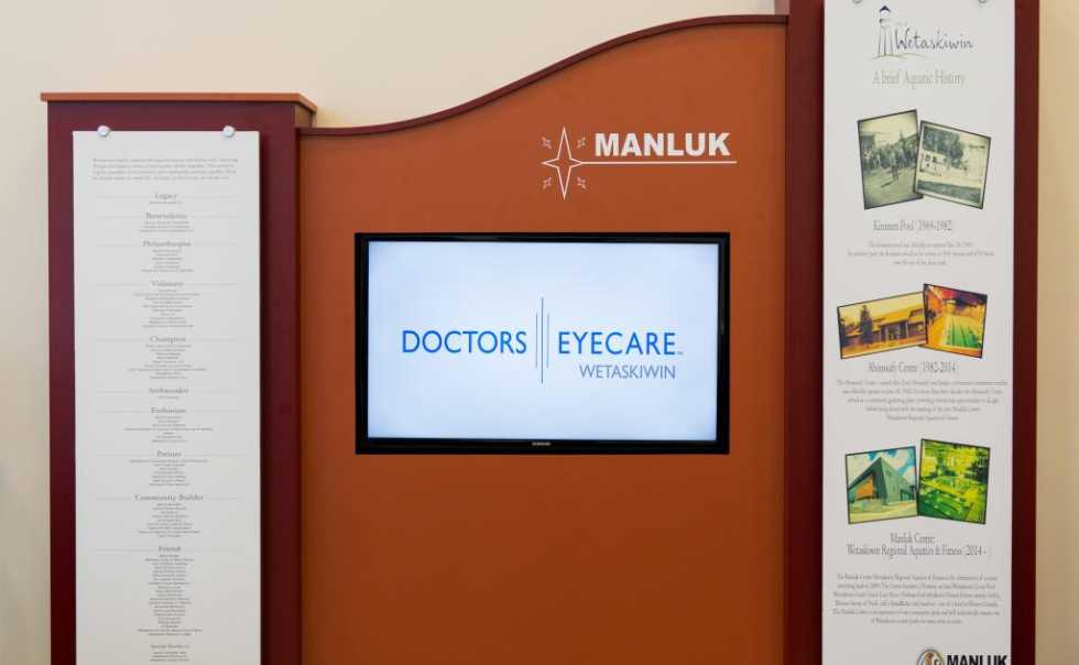 Doctors Eyecare Wetaskiwin is a proud sponsor of the Manluk Centre