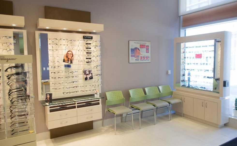 Opsis Eye Care Waiting Area - Dr. Jessica Nhan