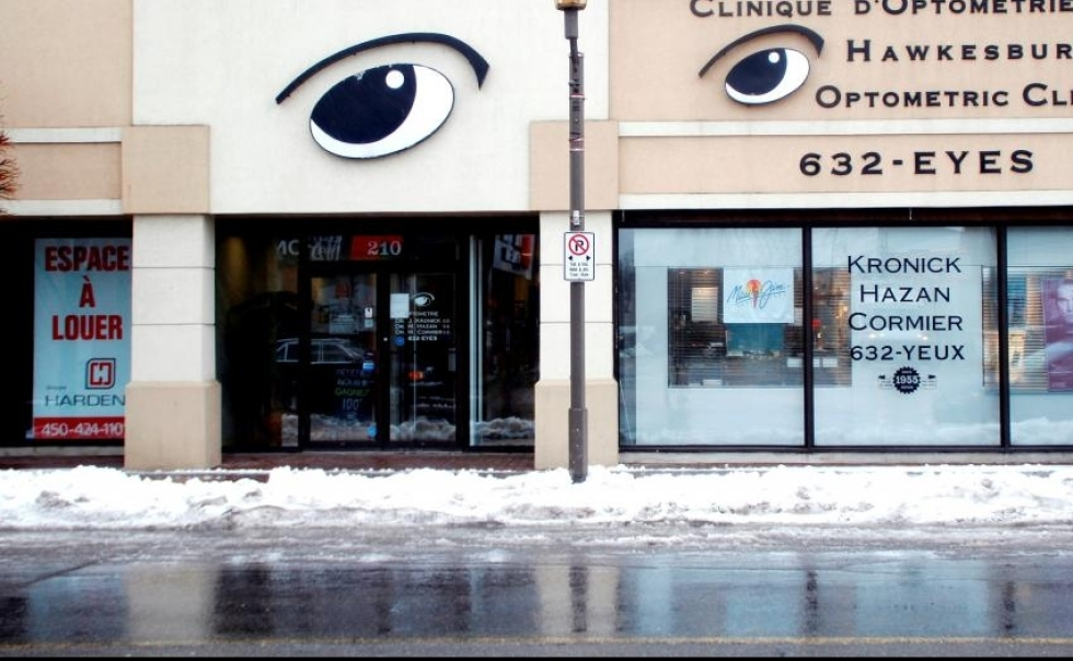 Exterior of Hawkesbury Optometric Clinic
